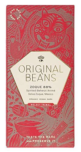 Original Beans - Zoque 88% BIO Schokolade 70 g Tafel / CH-BIO-006 -Tropische Aromen von Lychee und Kokos