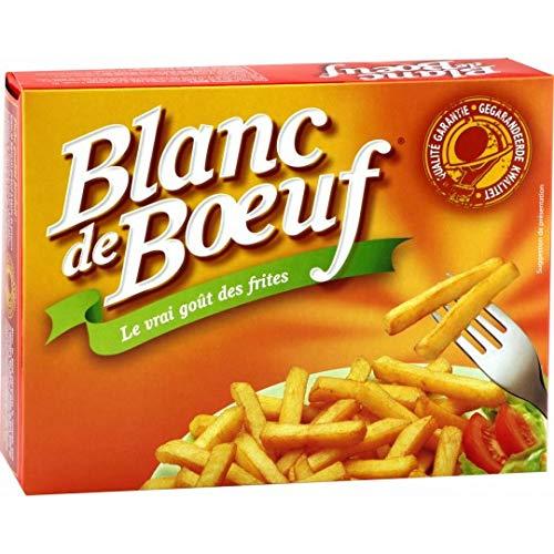 Vandemoortele - Blanc de Boeuf Ossewit - 2.2 kg - 100% Rinderfett - Langlebigere Verwendung - Unübertroffener Geschmack und Knusprigkeit - Hervorragende heiße Fließfähigkeit - Frittieröl