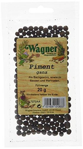 Wagner Gewürze Piment ganz (1 x 20 g)