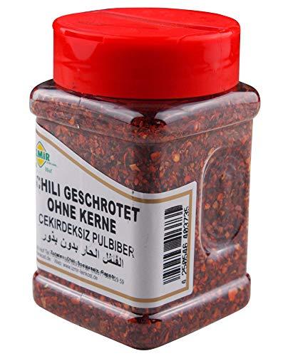 Izmir - Chiliflocken Zubereitung aromatisch scharf - Paprikaflocken - Pul Biber (125g)