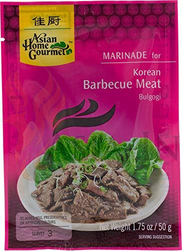Asian Home Gourmet Marinade für koreanisches Fleischgericht Bulgogi 50g