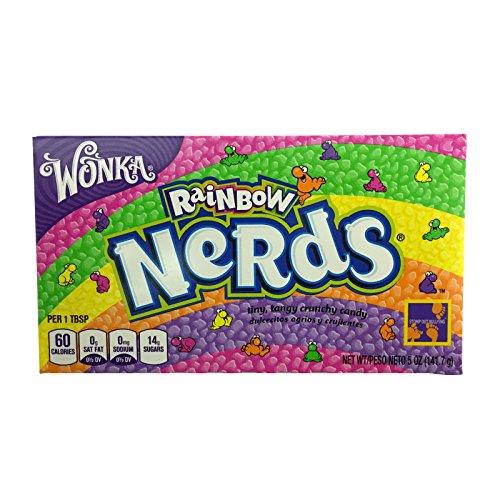 Wonka - Rainbow Nerds 141,7g (12er Packung)