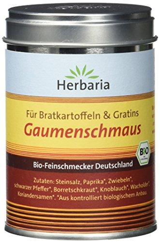 Herbaria 'Gaumenschmaus' Bratkartoffelgewürz, 100 g - Bio