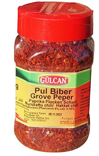 Pul Biber - Chiliflocken Zubereitung - Paprikaflocken (180g)