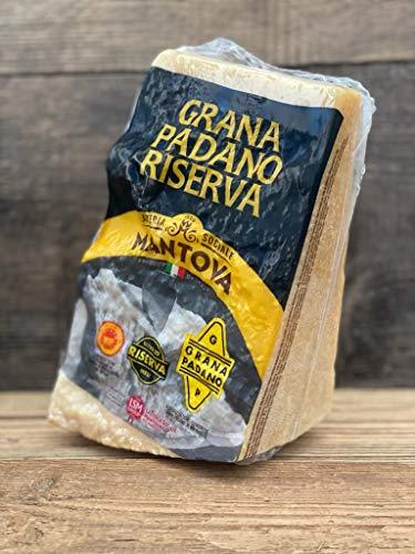 Preisgekrönter Grana Padano DOP riserva mind. 20 Monate gereift 1,1kg am Stück italienischer Hartkäse