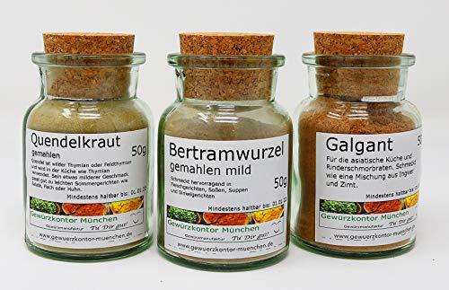 Hildegard von Bingen Gewürze Kräuter Set im Glas Gewürzkontor München