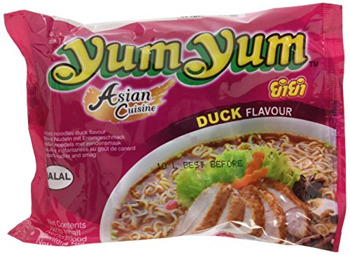 Yum Yum Instant Nudeln Ente, 30er Pack (30 x 60 g)