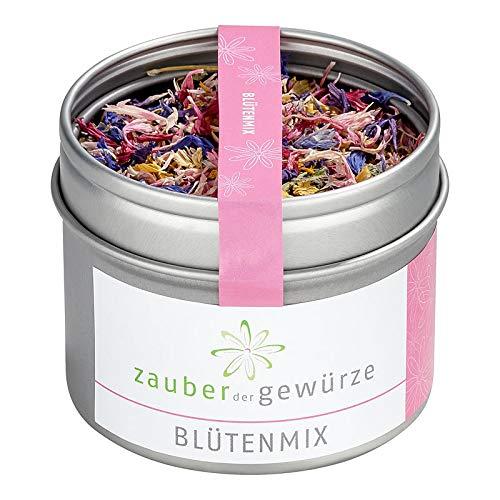Zauber der Gewürze   Blütenmix, Blütenmischung, essbare Blüten   Premium-Qualität, 6 g