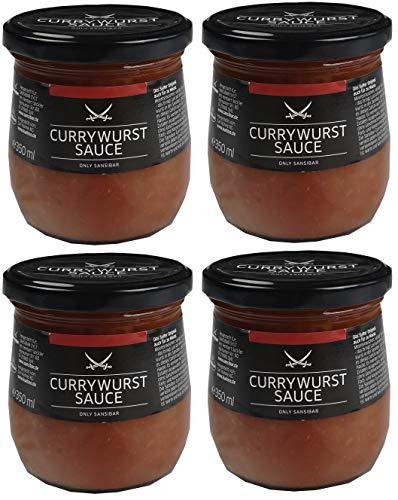SANSIBAR Sylt - die kultige Currywurst Sauce - spicy Currywurstsoße (würzig-scharf) (Currywurstsoße, 1400 ml)