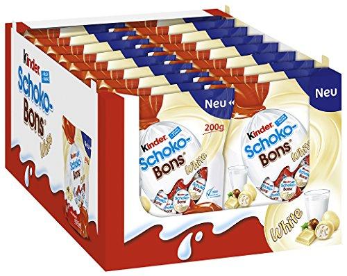 Kinder Schoko Bons White, 18er Pack (18 x 200g)