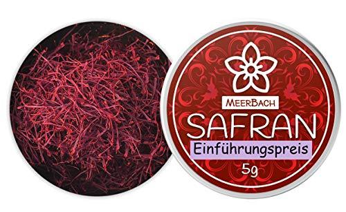 Safran Fäden • 5g Safranfäden der Kategorie I • echter Safran • perfekt als Paella Gewürz