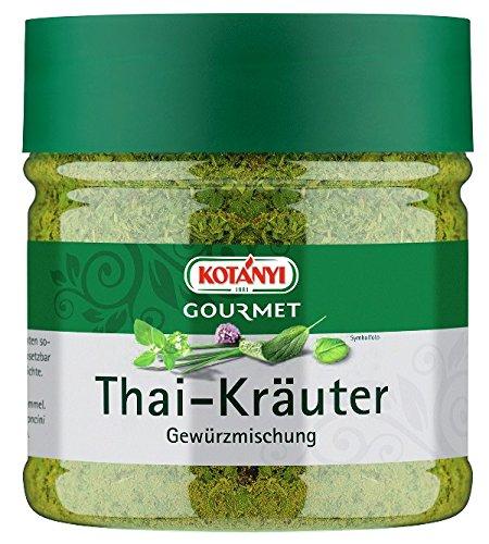 Kotanyi Gourmet Thai-Kräuter Gewürzmischung | typischer Geschmack nach Ingwer, Koriander und Zitronengras, 400 ccm, ca. 151 g
