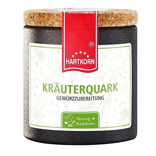 Kräuterquark Gewürz - 38 g in der Young Kitchen Pappwickeldose mit Korkdeckel von Hartkorn - wiederverschließbar und wiederbefüllbar