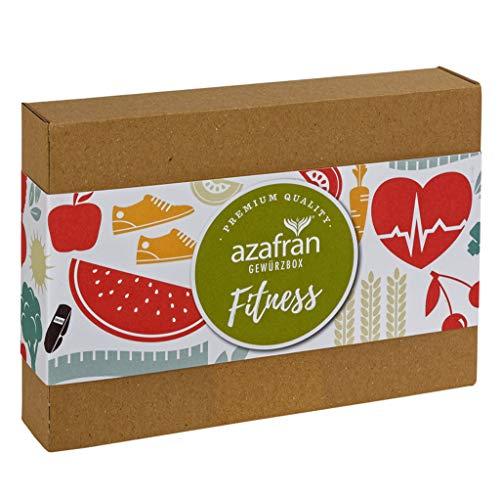Azafran Gewürze Set Fitness - Gewürzbox für Sportler