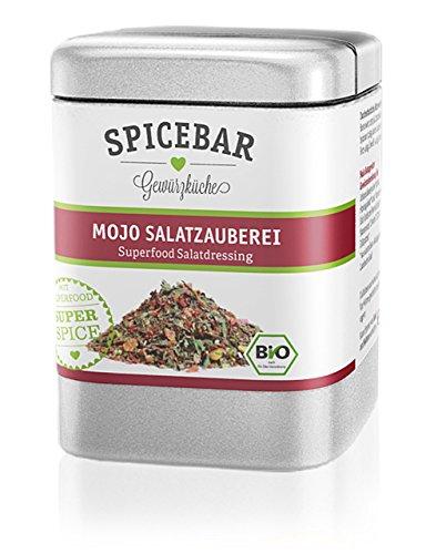 Spicebar MoJo Salatzauberei, Superfood Salat-Gewürz mit Moringablatt, Bio (1 x 60g)