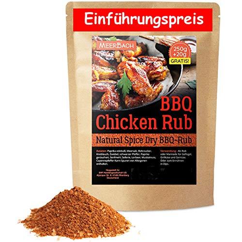 Chicken Rub • Hähnchen Gewürz • 250g Chicken Wings BBQ Rub • Gewürzmischung zum Grillen und Marinieren