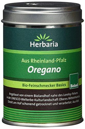 Herbaria Oregano gerebelt, 1er Pack (1 x 20 g Dose) - Bio