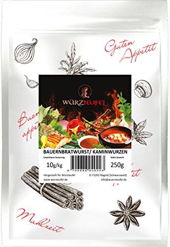 Pfefferbeißer, Kaminwurzen, Bauernbratwurst - Gewürz. Für rohgereifte Wurstsorten. Beutel: 250g.