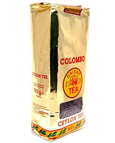 Colombo Orient schwarzer Ceylon Tee Extra Quality 500g