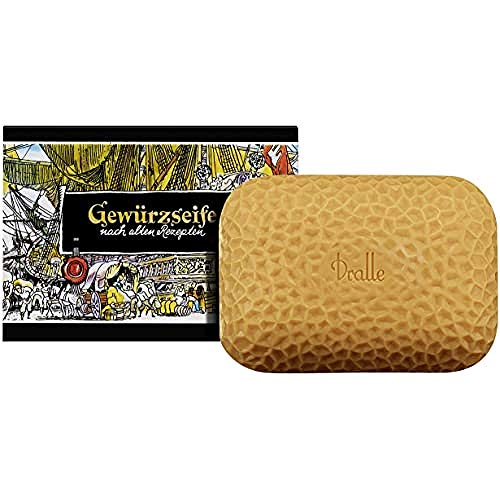 Garnier Gewürzseife Dralle Stückseife zur Handpflege mit würzigem Duft, hergestellt nach alter Rezeptur, 5er Pack (5x125g)