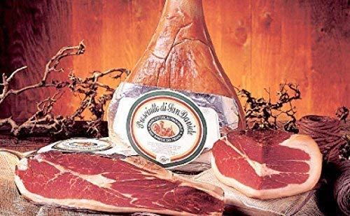 mind 16 Monate luftgetrockneter Rohschinken Prosciutto di San Daniele DOP natürlich gereift *Premium Qualität* ohne Knochen - 'Gambero Rosso' Preisgekrönt (2kg)