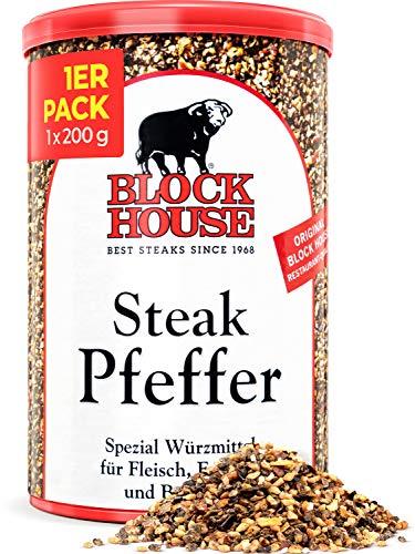 Block House Steak Pfeffer 200g Gewürzmischung - in Restaurantqualität