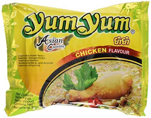 Yum Yum Instant Nudeln Huhn, 10er Pack (10 x 60 g)