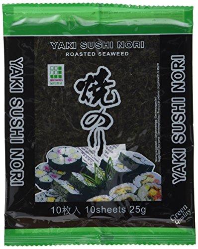 Jhfoods Seetang geröstete Qualität grün 25g (1 x 25 g)