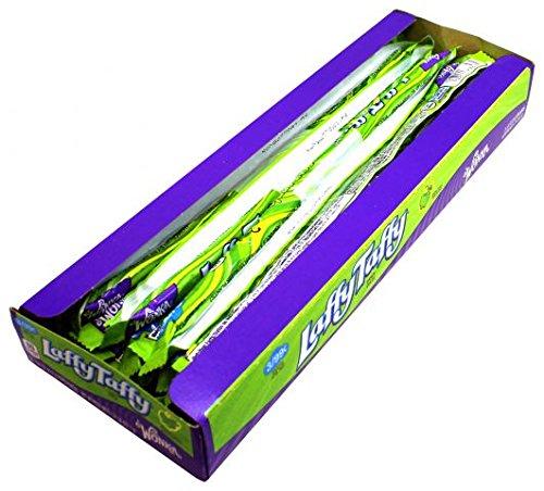 Willy Wonka Laffy Taffy Whips Sour Apple 24er Pack