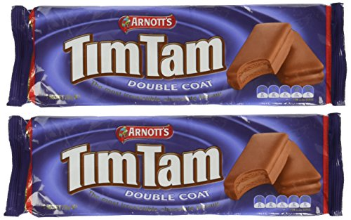 |Tim Tam Cookies Arnotts || Tim Tams Chocolate Biscuits || Made in Australia || Choose Your Flavor (2 Pack) (Double Coat)|