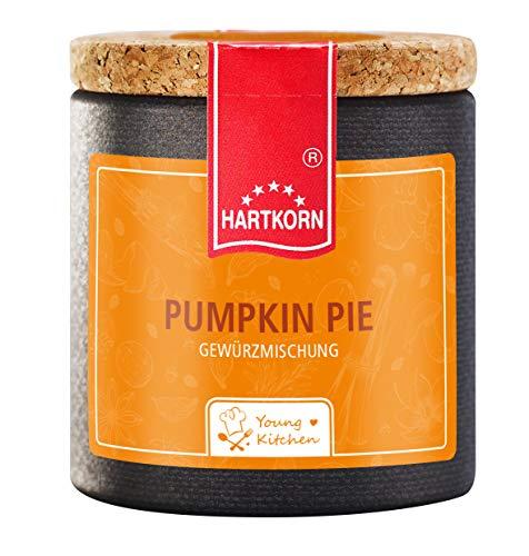 Pumpkin Pie Gewürz - 40 g in der Young Kitchen Pappwickeldose mit Korkdeckel von Hartkorn - wiederverschließbar und wiederbefüllbar …
