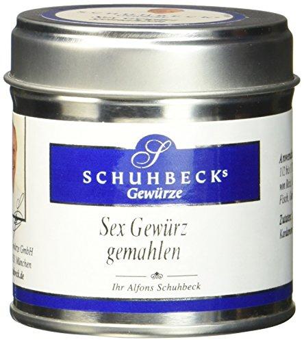 Schuhbecks Gewürze Sex Gewürz Gewürzmischung für Nudeln, Kartoffeln, Gemüse & Reis, mild orientalisch & harmonisch, klein & edel ideal als Geschenk, 3er Pack (3 x 45 g)