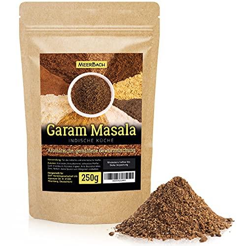 Garam Masala • indische Gewürzmischung • 250g gemahlenes Masala Gewürz • aromatisches Gewürz für die indische Küche