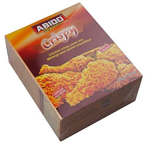 Abido - Crispy chicken cover mix - Knusprige Hähnchen Gewürz Panade (500g)