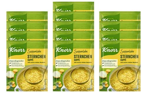 Knorr Suppenliebe Sternchen Suppe, 13 x 3 Teller (13 x 750 ml)