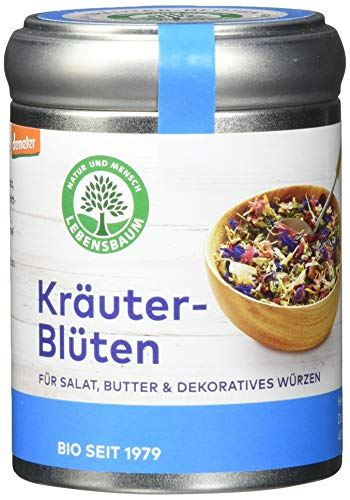 Lebensbaum Kräuter-Blüten (Für Salat & Dekoratives Würzen), 25 g