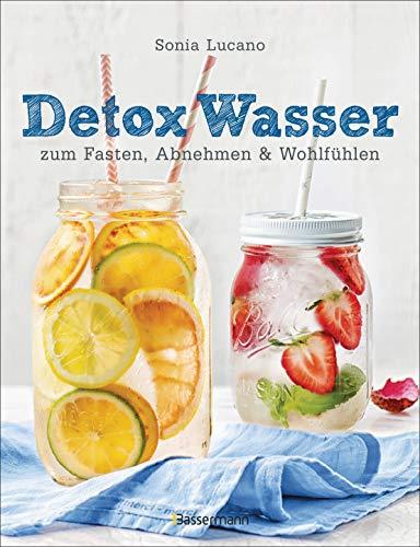 Detox Wasser - zum Fasten, Abnehmen und Wohlfühlen. Mit Früchten, Gemüse, Kräutern und Mineralwasser: Geschmackserlebnis fruit infused water: ... Antioxidantien, Vitaminen und viel Geschmack