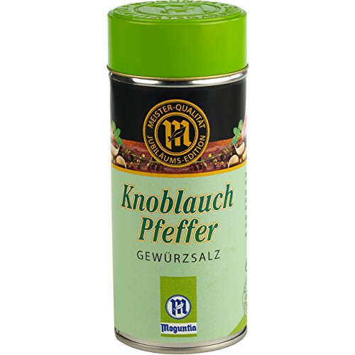 Knoblauch Peffer, Gewürzsalz - Moguntia 1er Pack 135g