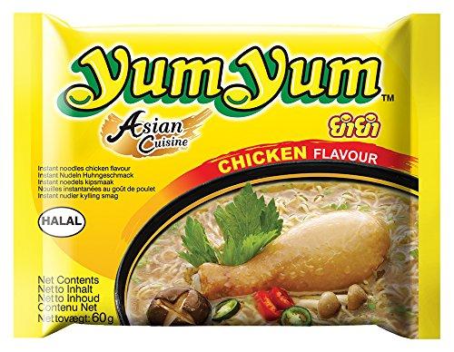 Yum Yum Instant Nudeln Huhn 60g, 45er Pack (45 x 60 g)