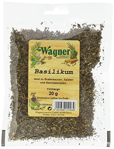 Wagner Gewürze 601003 Basilikum gerebelt ,