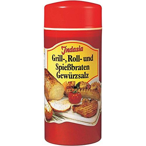 Grill-, Roll- und Spießbraten-Gewürzsalz 250g Dose - Indasia