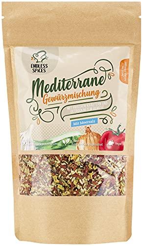 Endless Spices mediterrane Gewürzmischung, italienische Kräuter-Mischung, leckeres Pasta- und Pizza-Gewürz vegan, vegetarisch, 300 g