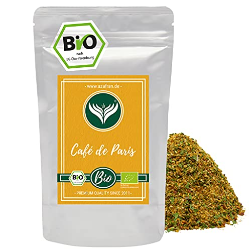 Azafran Bio Cafe de Paris Dip Butter Gewürz / Gewürzmischung 250g