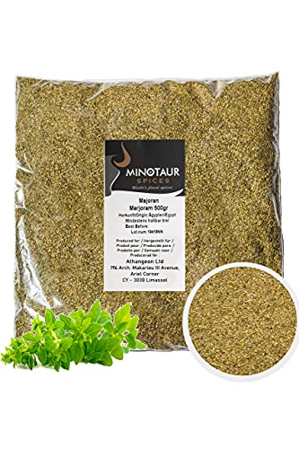 Minotaur Spices | Majoran | 2 X 500g (1 Kg) | getrocknet und gerebelt