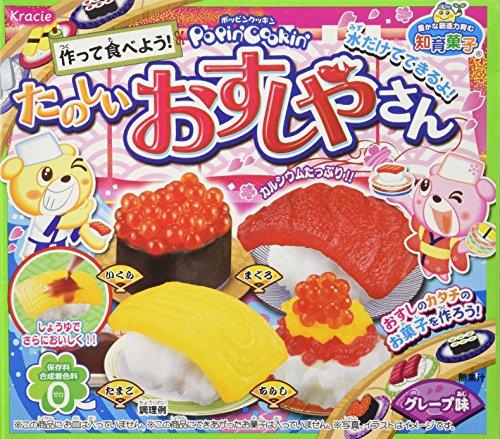 Kracie Popin' Cookin' DIY Süßigkeiten Set Sushi Japan