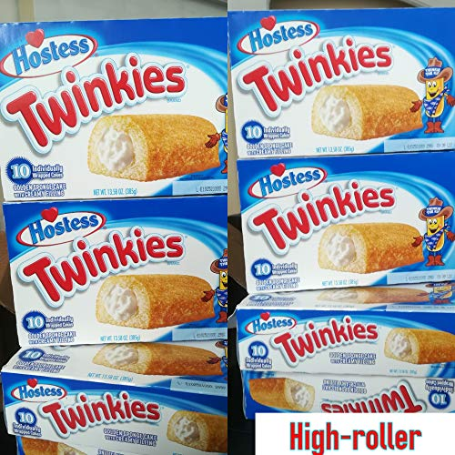 Twinkies 6 Pack - 6 Full Boxes - 60 Cakes