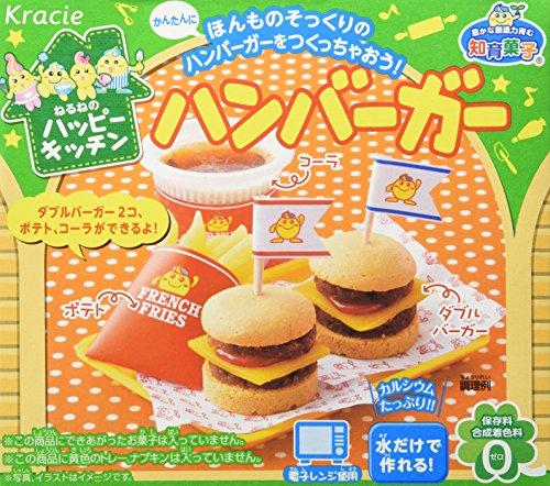 Hamburger Popin' Cookin' Set DIY Süßigkeiten von Kracie