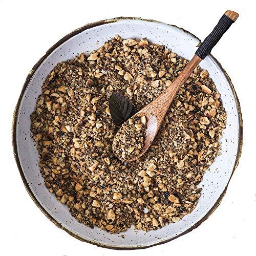 Med Cuisine 'Dukkah' Gewürzmischung 500GR - Eine knusprige Gewürzmischung aus Kräutern, Nüssen und Samen - Ägyptische Gewürzmischung - Vegan, gentechnikfreie Würzmischung
