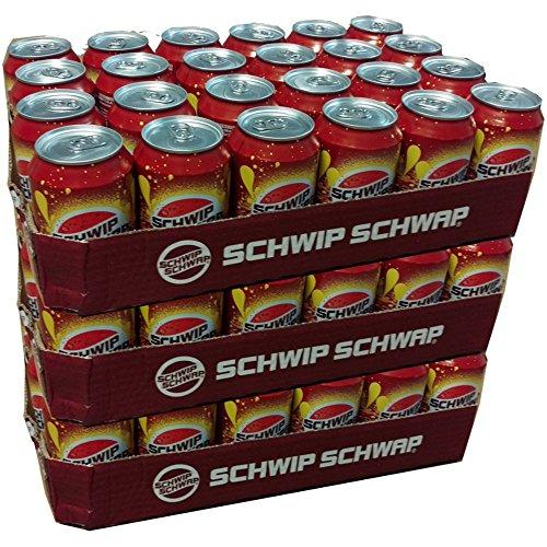 Schwip Schwap Cola & Orange 72 x 0,33l Dose XXL Paket (Cola- Orange- Mischgetränk)