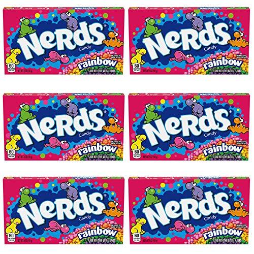 Rainbow Nerds x 6 Packs